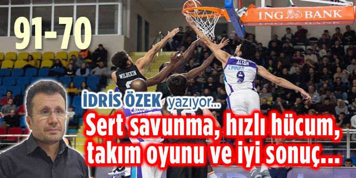 TAKIM OYUNU, SAVUNMA VE HÜCUM, İYİ SONUÇ!..