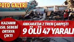 TREN KAZASINDA ÖLÜ SAYISI 9'A YÜKSELDİ |||FOTO GALERİ
