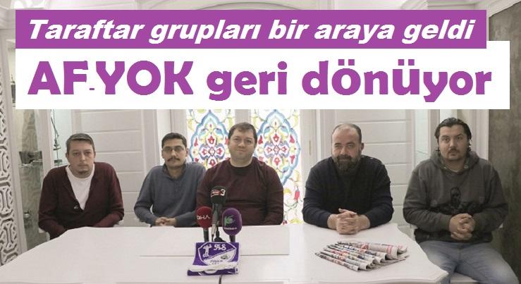 AF YOK, TRİBÜNLERE GERİ DÖNÜYOR!..