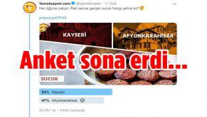 AFYON SUCUĞUNA YÜZDE 47'LİK DESTEK!..