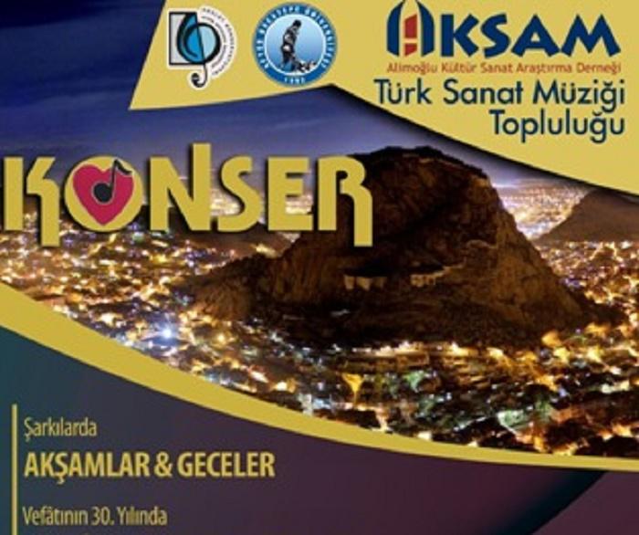 AKSAM'DAN TÜRK SANAT MUSİKİSİ KONSERİ