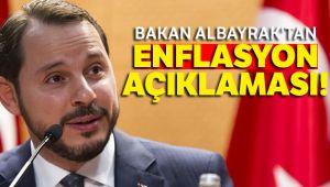 BAKAN ALBAYRAK'TAN ENFLASYON AÇIKLAMASI