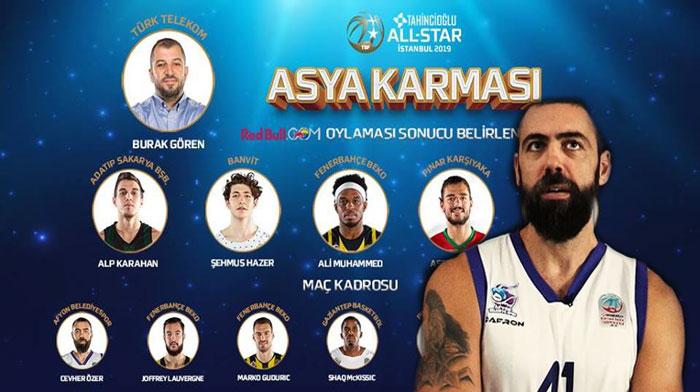 CEVHER ÖZER, ALL-STAR 2019 ASYA KARMASINDA