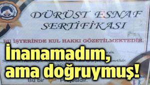 İNANAMADIM, AMA DOĞRUYMUŞ!..