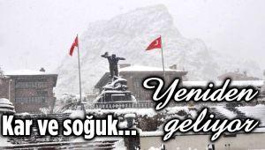 KAR VE SOĞUK YENİDEN GELİYOR!..