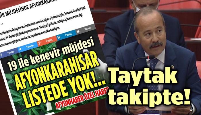 MEHMET TAYTAK, KONUYU TAKİP EDİYOR!..