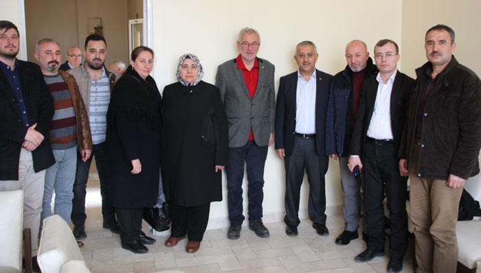 MEHMET ZEYBEK, AFYONHABER'İ ZİYARET ETTİ
