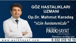 PARKHAYAT'A GÖZ HASTALIKLARI UZMANI BAŞLADI