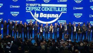 SAADET PARTİSİ'NİN AFYON'DA 59 BELEDİYE BAŞKANI CEPSİZ CEKETLE HALKIMIZA HİZMET EDECEK!..