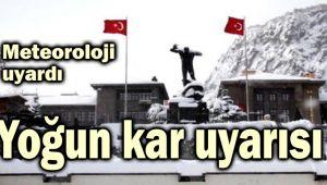 YOĞUN KAR GELİYOR!..