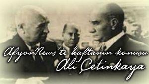 AFYONNEWS'TE HAFTANIN KONUSU, ALİ ÇETİNKAYA