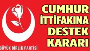 BBP'DEN FLAŞ SEÇİM AÇIKLAMASI!..