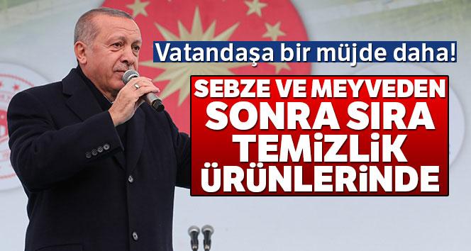 CUMHURBAŞKANI ERDOĞAN'DAN BİR MÜJDE DAHA!..