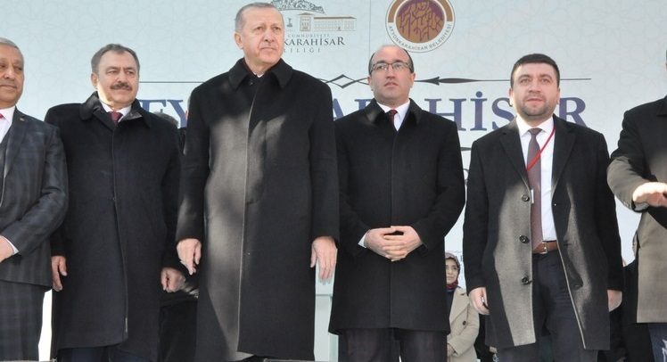 CUMHURBAŞKANI ERDOĞAN'DAN SANDIKLI'YA TAM DESTEK
