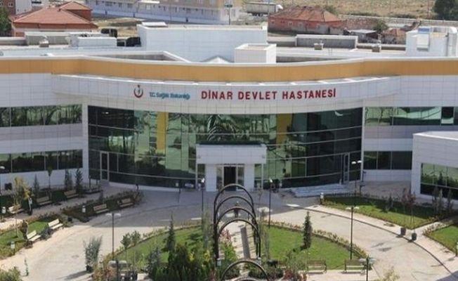 DİNAR DEVLET HASTANESİNE 9 DOKTOR ATAMASI YAPILDI