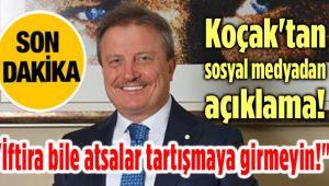 DR. MAHMUT KOÇAK'TAN FLAŞ AÇIKLAMA!..