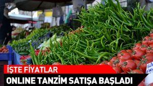 İŞTE ONLİNE TANZİM SATIŞTA FİYATLAR!..
