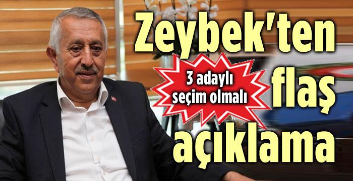 MEHMET ZEYBEK'TEN FLAŞ AÇIKLAMA!..