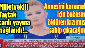 MİLLETVEKİLİ TAYTAK, MÜGE ANLI'DA CANLI YAYINA BAĞLANDI!..