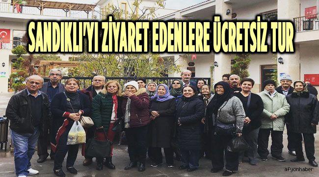 SANDIKLI'YI ZİYARET EDENLERE ÜCRETSİZ TUR