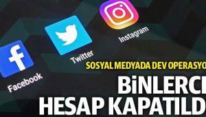 SOSYAL MEDYADA SAHTE HESAP OPERASYONU!..