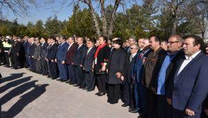 ÇANAKKALE DENİZ ZAFERİ'NİN 104'ÜNCÜ YIL DÖNÜMÜ TÖRENLE KUTLANDI