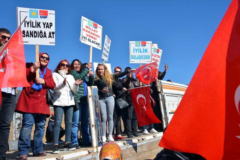DİNAR'DA MİLLET İTTİFAKI'NDAN TOKİ ÇIKARMASI