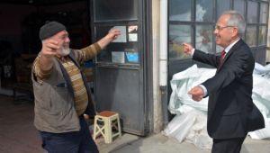 DİNAR SANAYİ SİTESİ ESNAFLARINDAN BAŞKAN ACAR'A TAM DESTEK