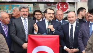 """ENERJİ BAKANI DÖNMEZ """"DİNAR'DA TERMİK SANTRALİN KURULMA AŞAMASINDAYIZ."""""""