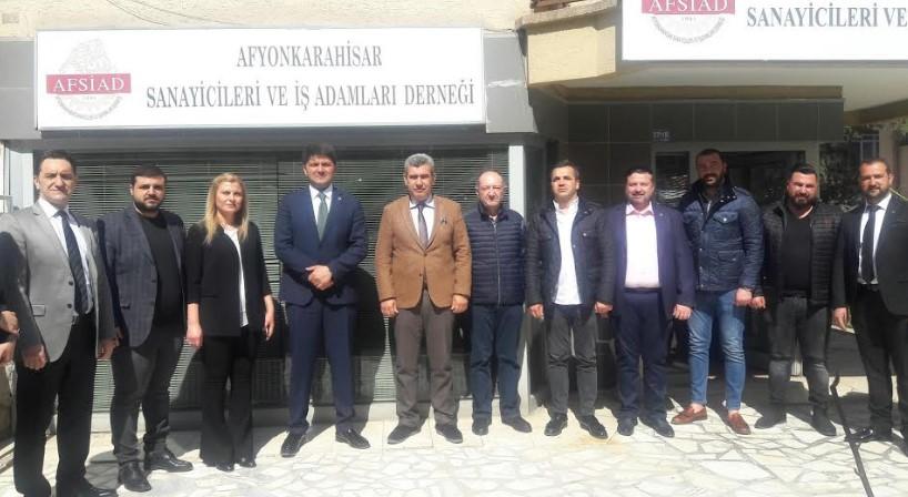 FATİH ÇETİNKAYA'DANAFSİAD'A ZİYARET