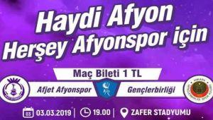 HAYDİ AFYON, SONUNA KADAR DESTEĞE DEVAM!..