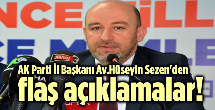 SEZEN'DEN FLAŞ AÇIKLAMALAR!..