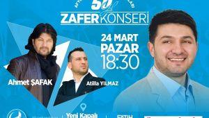 ÜLKÜ OCAKLARINDAN 50. YIL ZAFER KONSERİ