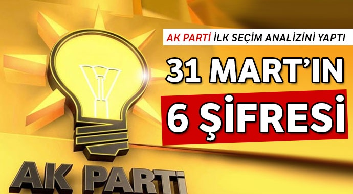 31 MART'IN 6 ŞİFRESİ!..