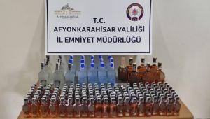 AFYON'DA SAHTE BANDROLLÜ ALKOL OPERASYONU