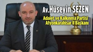 AK PARTİ İL BAŞKANI AV. HÜSEYİN SEZEN'İN POLİS HAFTASI MESAJI