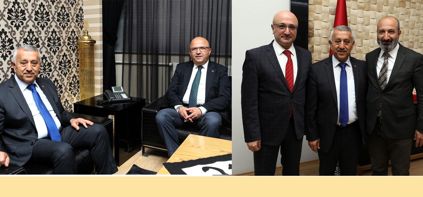 BARO VE İL GENEL MECLİSİ BAŞKANLARINDAN ZİYARET