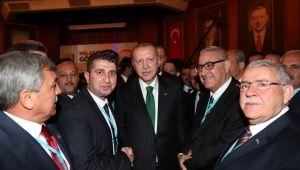 BAŞKAN MUAMMER IŞIKLI AK PARTİ KIZILCAHAMAM KAMPINDA