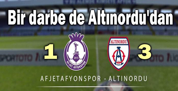 BİR DARBE DE ALTINORDU'DAN:1-3