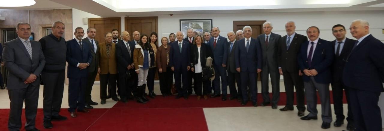 BOLDAV'DAN BAŞKAN FETHİ YAŞAR'A TEBRİK ZİYARETİ