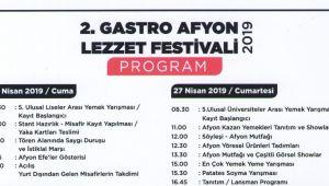 GASTRO FEST PROGRAM AKIŞI