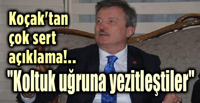 KOÇAK'TAN ZEHİR ZEMBEREK AÇIKLAMA!..