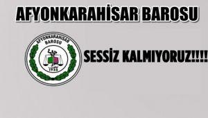 SESSİZ KALMIYORUZ!!!!