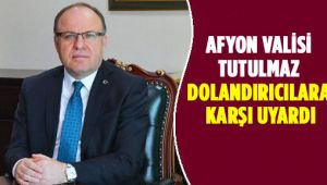 VALİ'NİN ADINI KULLANARAK PARA İSTEYENLERE DİKKAT!!!