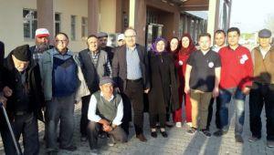 VALİ TUTULMAZ, SANDIKLI'DA HUZUREVİ'Nİ ZİYARET ETTİ
