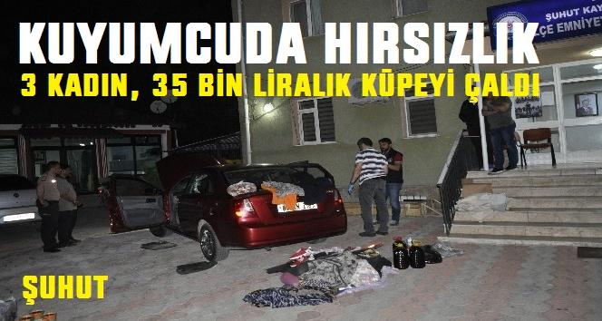 35 BİN LİRALIK ALTINI ÇALDILAR!..