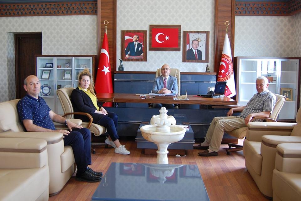 AFİMED, İGM BAŞKANI BURHANETTİN ÇOBAN'I ZİYARET ETTİ