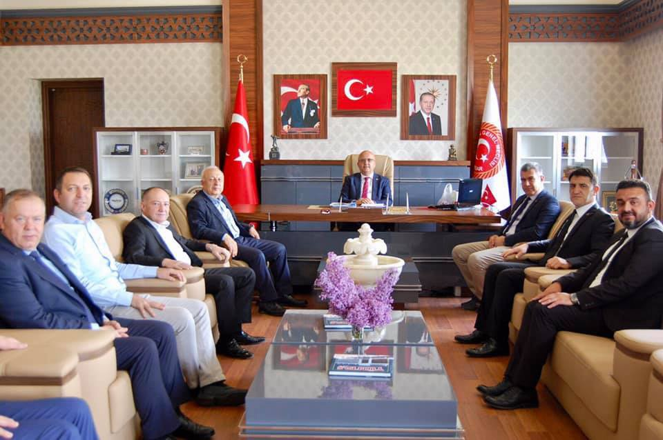 AFSİAD'DAN İL GENEL MECLİSİ BAŞKANI BURHANETTİN ÇOBAN'A TEBRİK ZİYARETİ