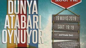DÜNYA ATABARI OYNUYOR 19 MAYIS'TA AFYON'DA