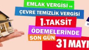 EMLAK VERGİSİ UYARISI!..